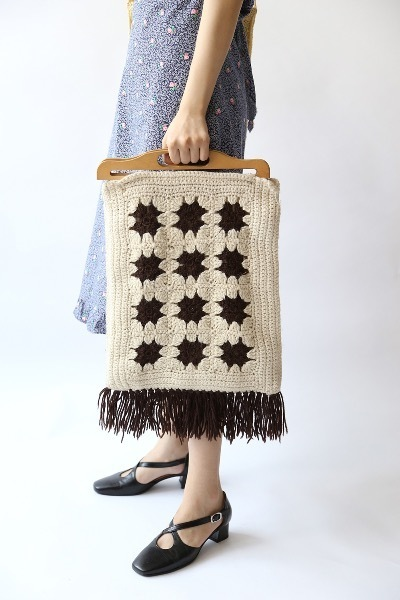 BLANKET KNITTING BAG