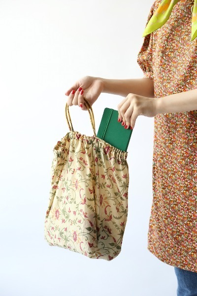 PETITE FLORAL SHOPPER BAG