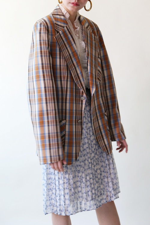 PADDED CHECK JACKET