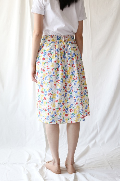70'S SUMMER COTTON SKIRT